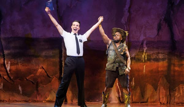 KJ-Hippensteel-and-Delroy-Atkinson.-The-Book-of-Mormon-London.-Credit-Johan-Persson-2016