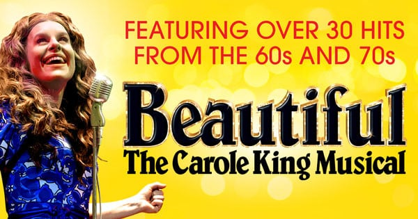 Beautiful The Carole King Musical now playing at the Aldwych Theatre