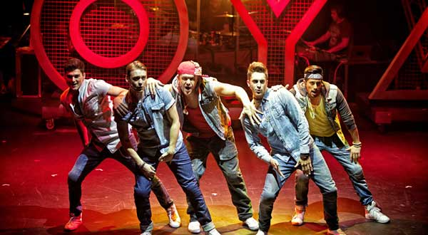 The Cast of Altar Boyz at the Greenwich Theatre