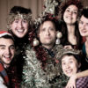 The cast of A Christmas Carol at The Old Red Lion Theatre. Photo: Anna Soderblom