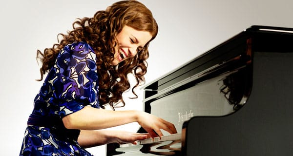 Katie Brayben takes on the role of Carole King in Beautiful. Photo: Uli Weber