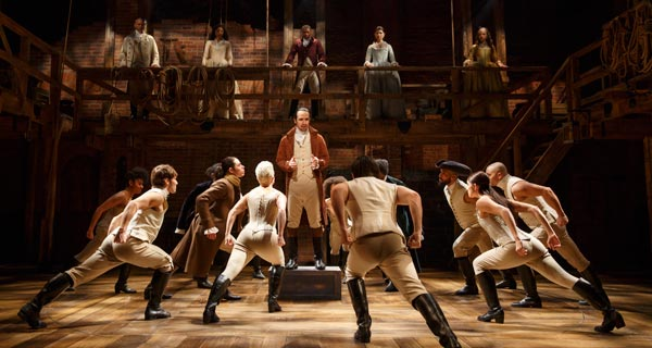 Hamilton The Musical Transfers to Broadway