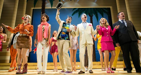 Dirty Rotten Scoundrels the musical on tour in the UK