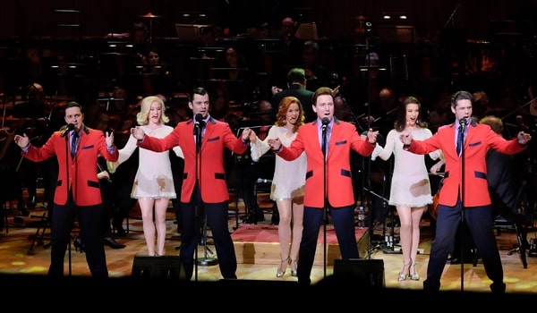 The Jersey Boys apear at The Oliviers In Concert