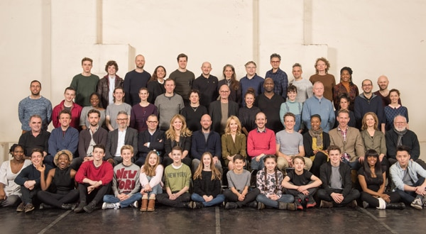 The cast of Harry Potter An d The Cursed Child