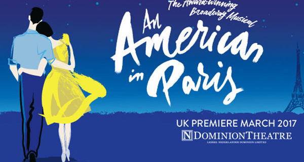 Book tickets for An American In Paris!