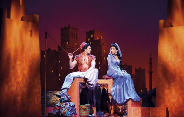 Book now for Disney's Aladdin at the Prince Edward Theatre