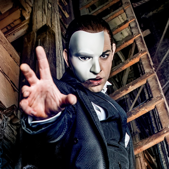 Book now for The Phantom Of the Opera