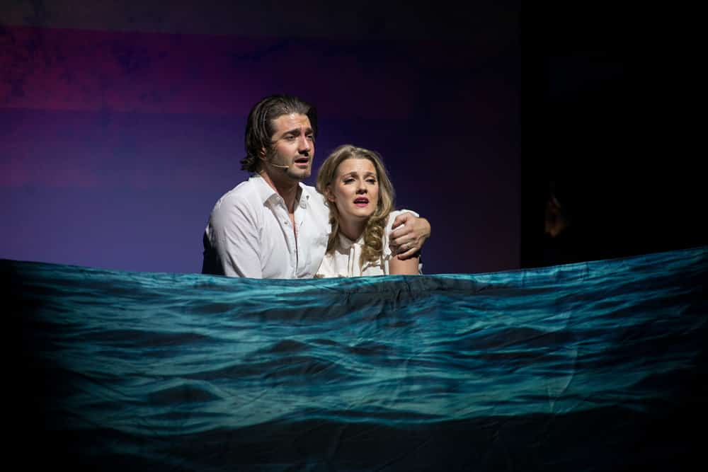 Oliver Tompsett and Alice Fern in Disaster!