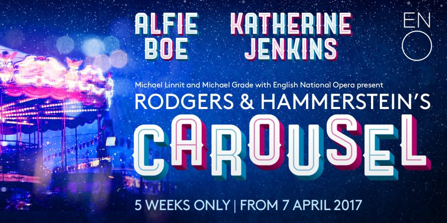 Alfie Boe and Katherine Jenkins to star in Carousel