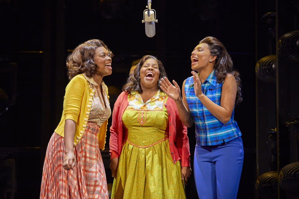 Amber Riley stars in Dreamgirls at the Savoy Theatre
