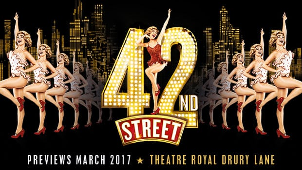 Book tickets for 42nd Street at Theatre Royal Drury Lane
