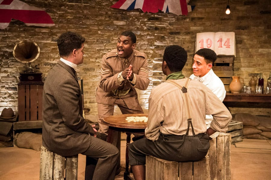 Book tickets for The Chigger Foot Boys at Tara Arts Theatre