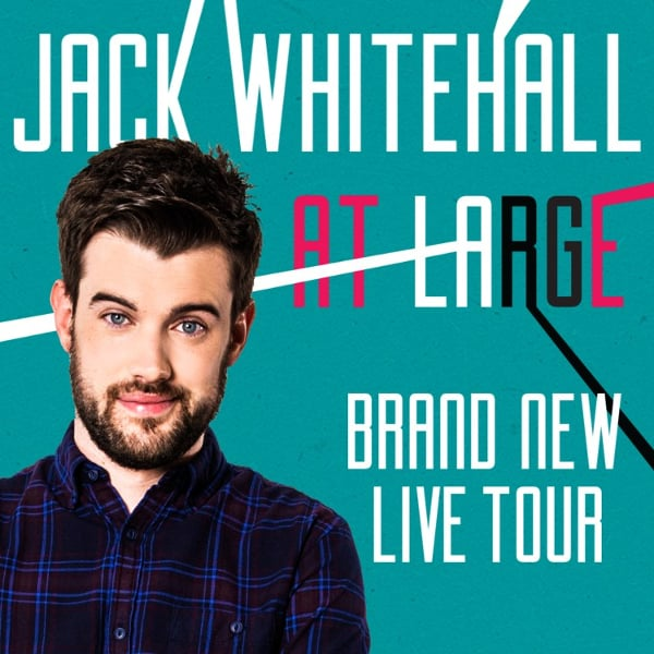 Book tickets to Jack Whitehall this Sunday and save 50%