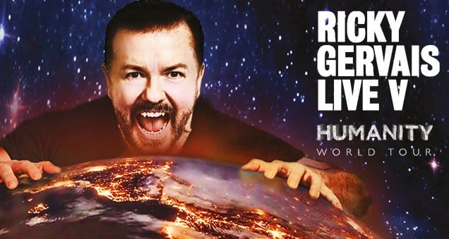 Ricky Gervais Humanity UK Tour