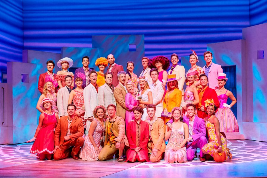 Mamma Mia! at the Novello Theatre