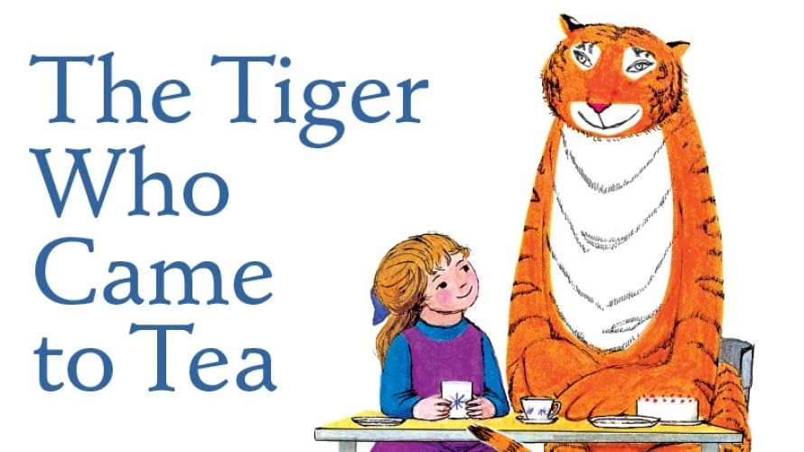 Book tickets to The Tiger Who Came To Tea