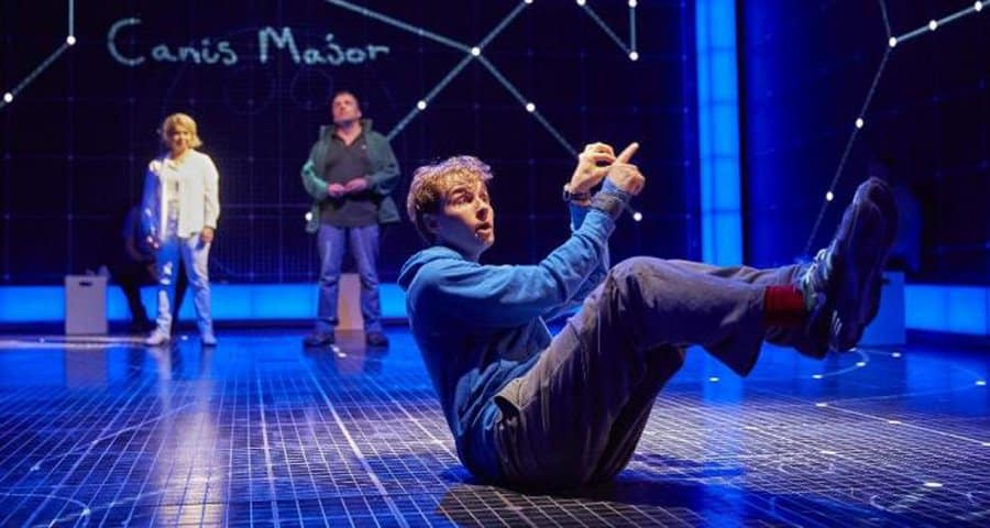 Sion Daniel Young in The Curious Incident Of The Dog In The Night Time