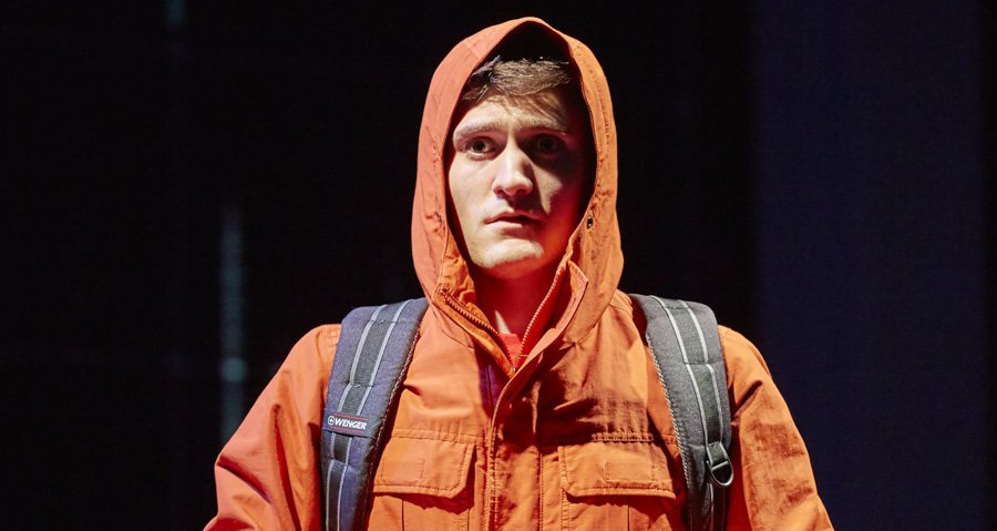 Thomas Ayre in Curious Incident Of The Dog In The Night Time