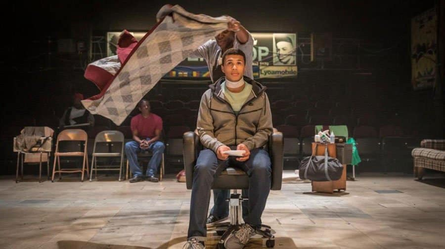 Barbershop Chronicles at the National Theatret