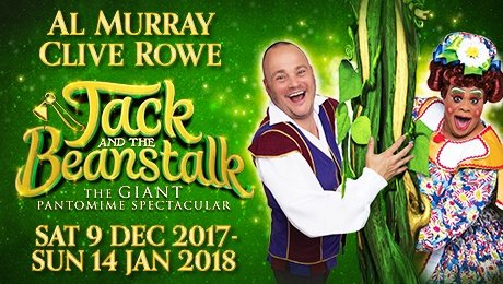 Jack and the Beanstalk at New Wimbledon Theatre 2017