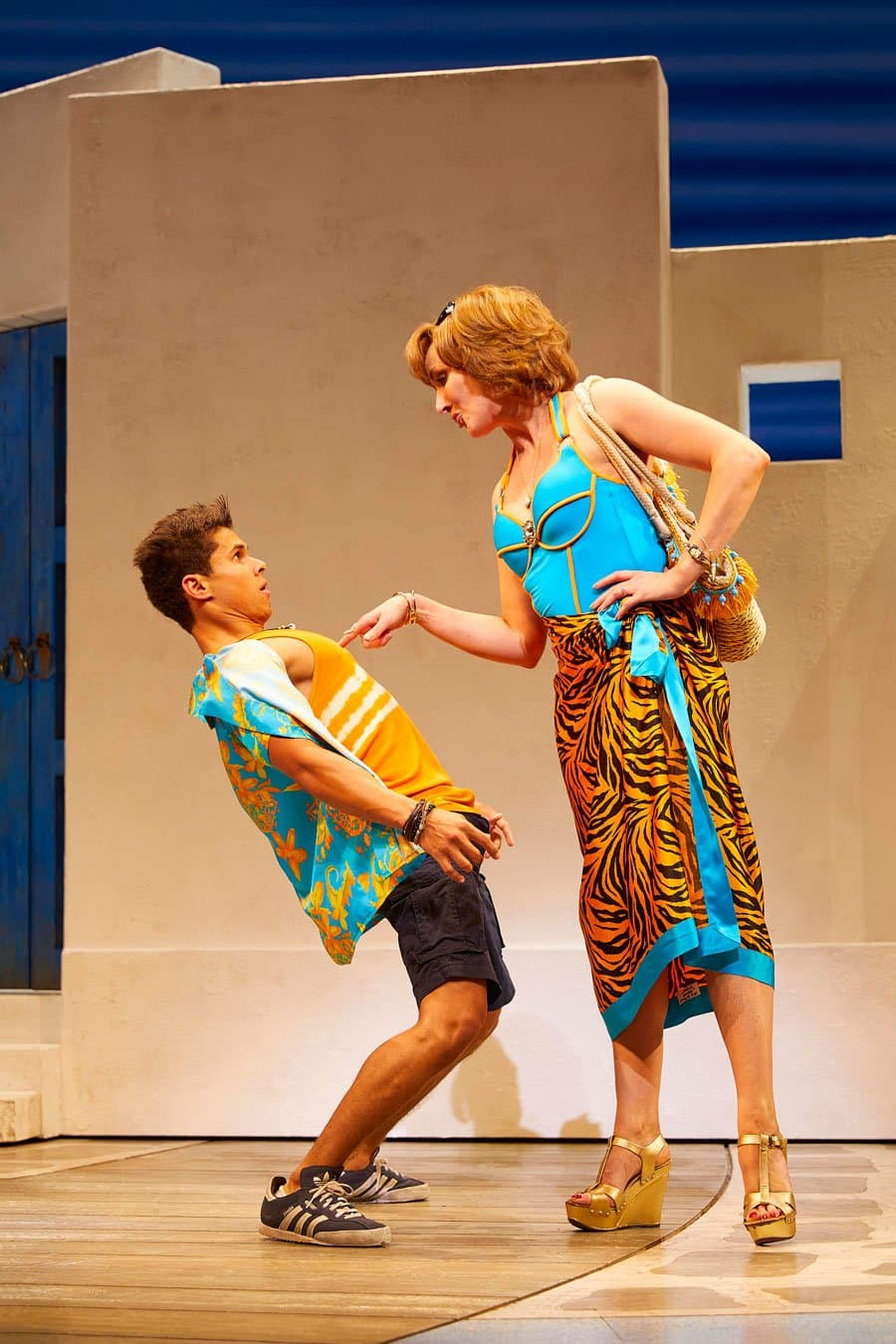 Book now for Mamma Mia! at the Novello Theatre