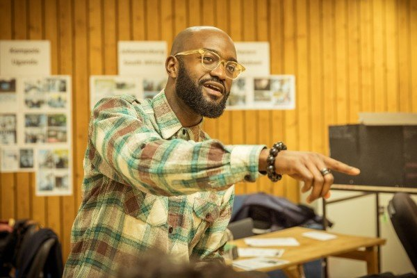 Playwright Inua Ellams on Barber Shop Chronicles