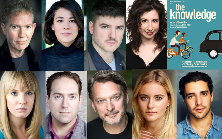 Full casting announcedfor stage adaptation of The Knowledge at Charing Cross Theatre