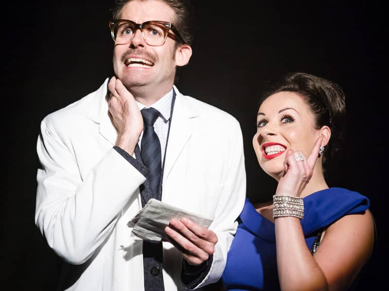 Lucky Stiff the musical at Union Theatre London