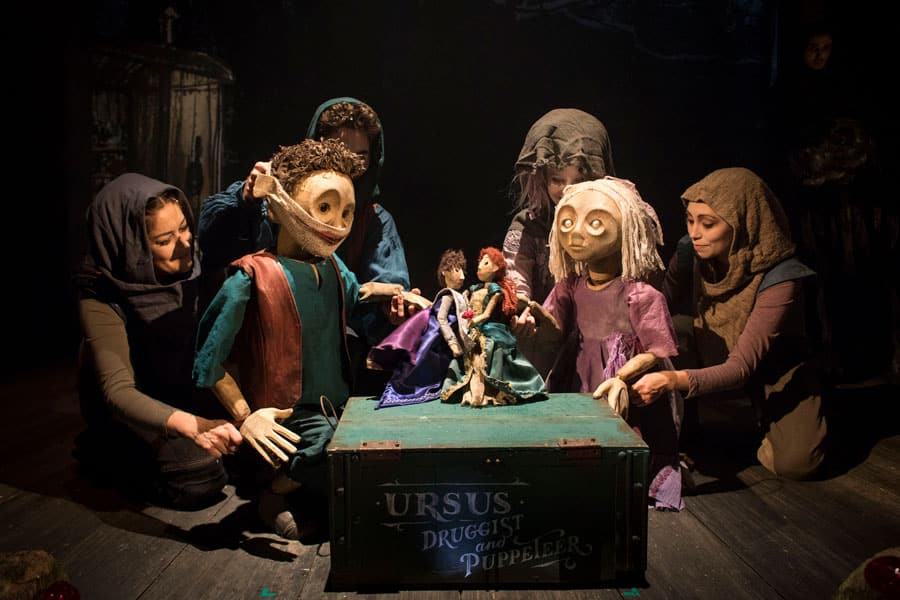 The Grinning Man Musical at Trafalgar Studios