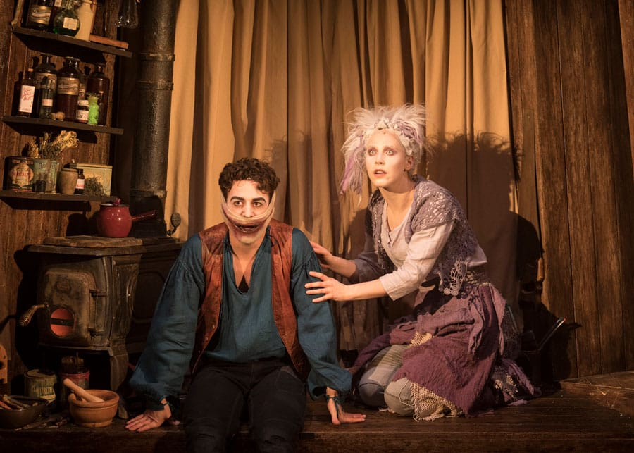 The Grinning Man musical Trafalgar Studios