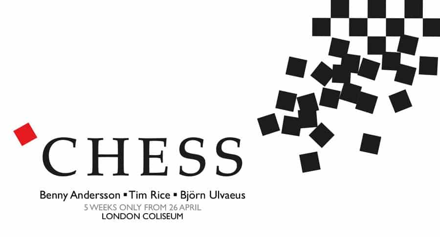 Chess musical London Coliseum
