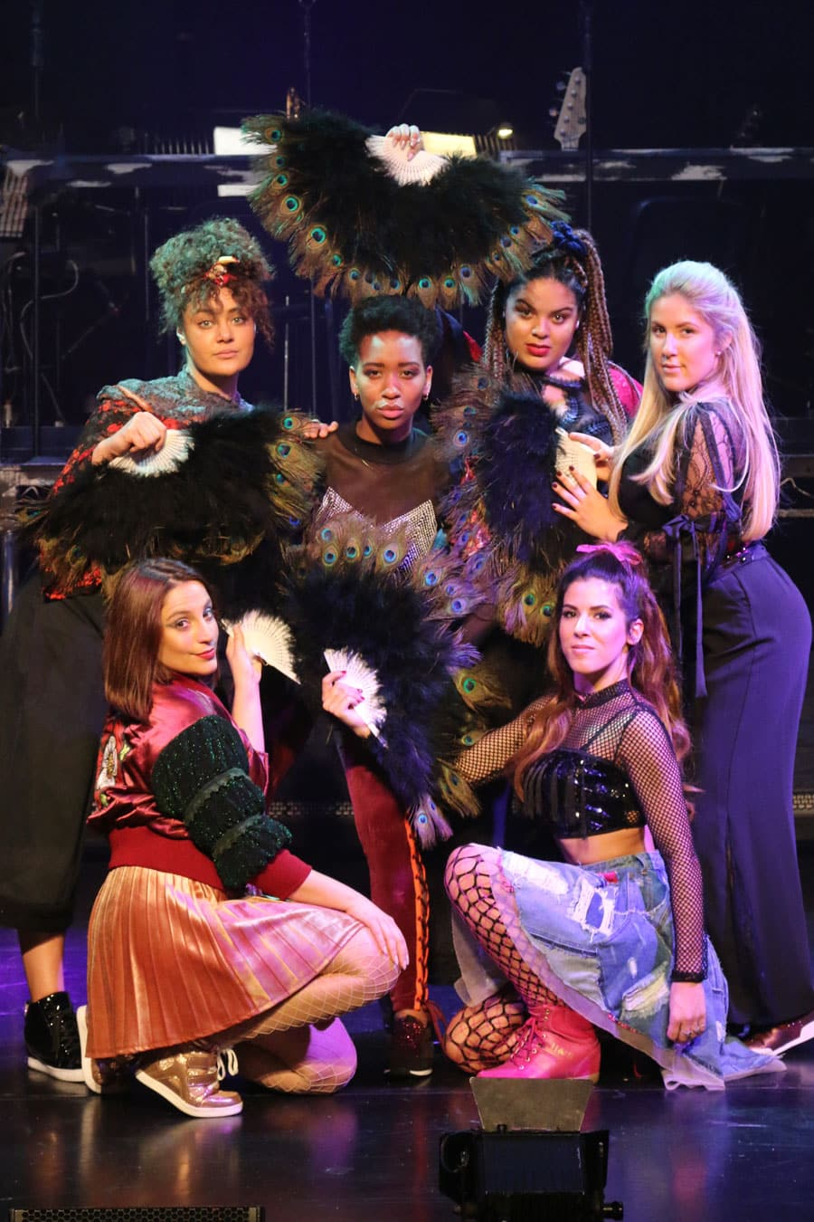 Six the musical review Arts Theatre