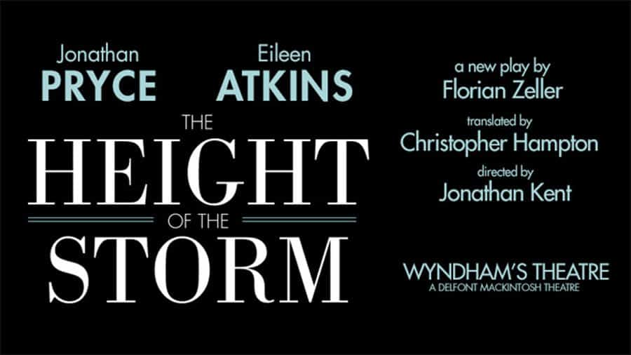 The Height Of The Storm West End and Tour