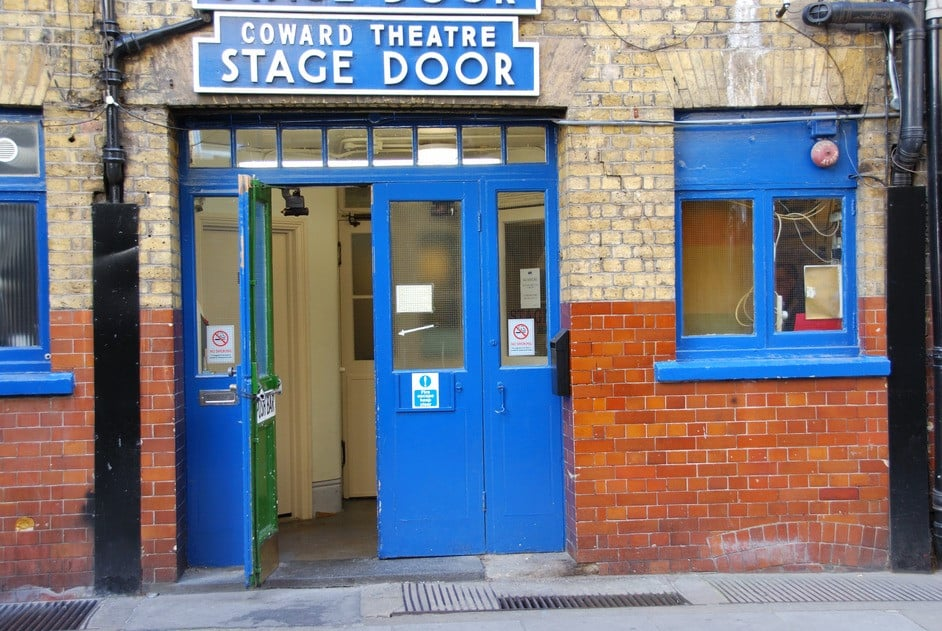 Noel Coward Stage Door
