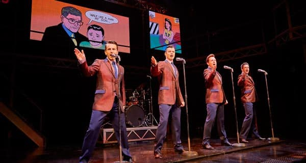 Tickets for Jersey Boys at London Picadilly Theatre are available through BritishTheatre.com