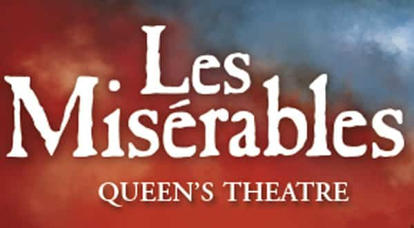 Book now for Les Miserables at London's Queens Theatre