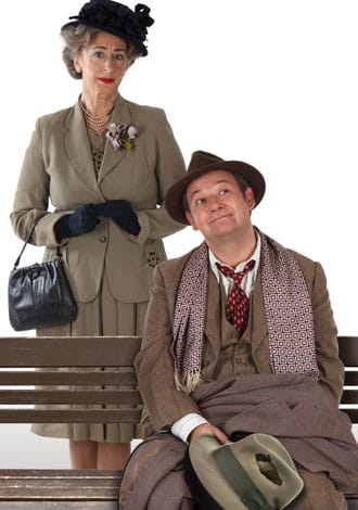 Maureen Lipman and James Dreyfus star in the UK Tour and West End production of Harvey