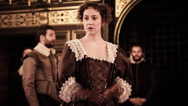 Hattie Morahan in The Changeling at the Sam Wannamaker Playhouse