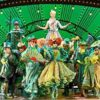 Wicked at the Apollo Victoria Theatre in London