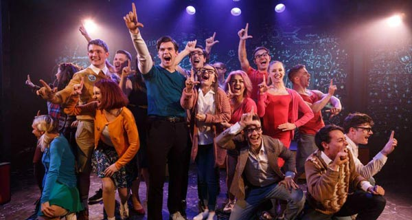 The cast of Loserville at the Union Thetare