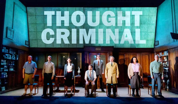 1984 by George Orwell at the Playhouse Theatre