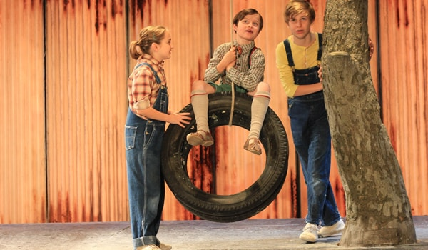 To Kill A Mockingbird at The Barbican Theatre