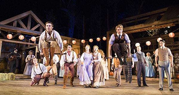 Seven Brides For Seven Brothers at Regent's Park Open Air Theatre