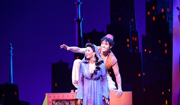 Aladdin on Broadway at the New Amsterdam Theatre