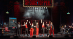 Dylan-Emery,-Justin-Brett,-Ruth-Bratt,-Andrew-Pugsley,-Lucy-Trodd,-Adam-Meggido-and-Philip-Pellew–in-Showstopper!-The-Improvised-Musical—credit-Geraint-Lewis