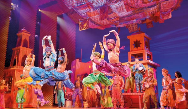 Book now for Aladdin at London's Prince Edward Theatre