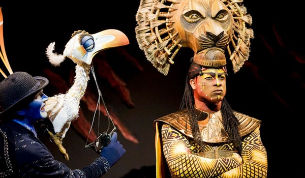 review  the lion king  lyceum theatre