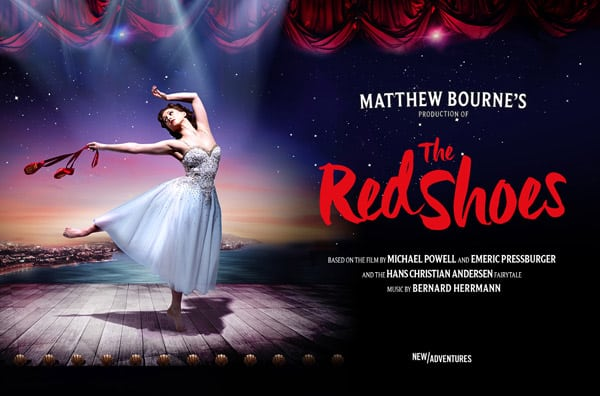 Book now for Mathew Bourne's The Red Shoes - Tour and Ticket information