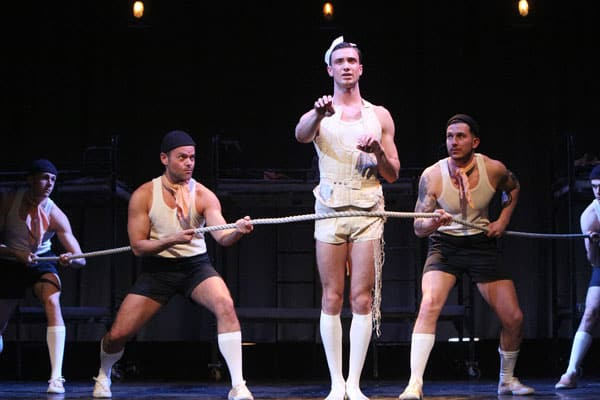 Book now for the All Male HMS Pinafore Tour